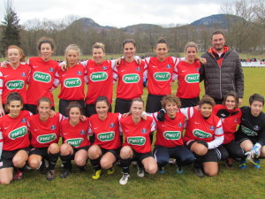 Match de foot coupe de france feminine 16eme de finale st julien chapteuil grenoble claix 31 01 - Match de foot coupe de france en direct ...