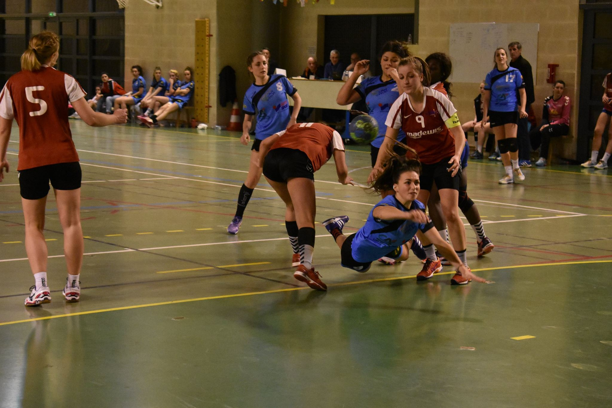 nationale 3 féminine handball st Saint-Chamond- st germain blavozy 11/02/17 19h