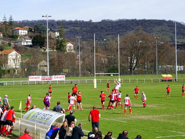 rugby fédérale 3 us vinay-cop le puy 26/07/17 15h
