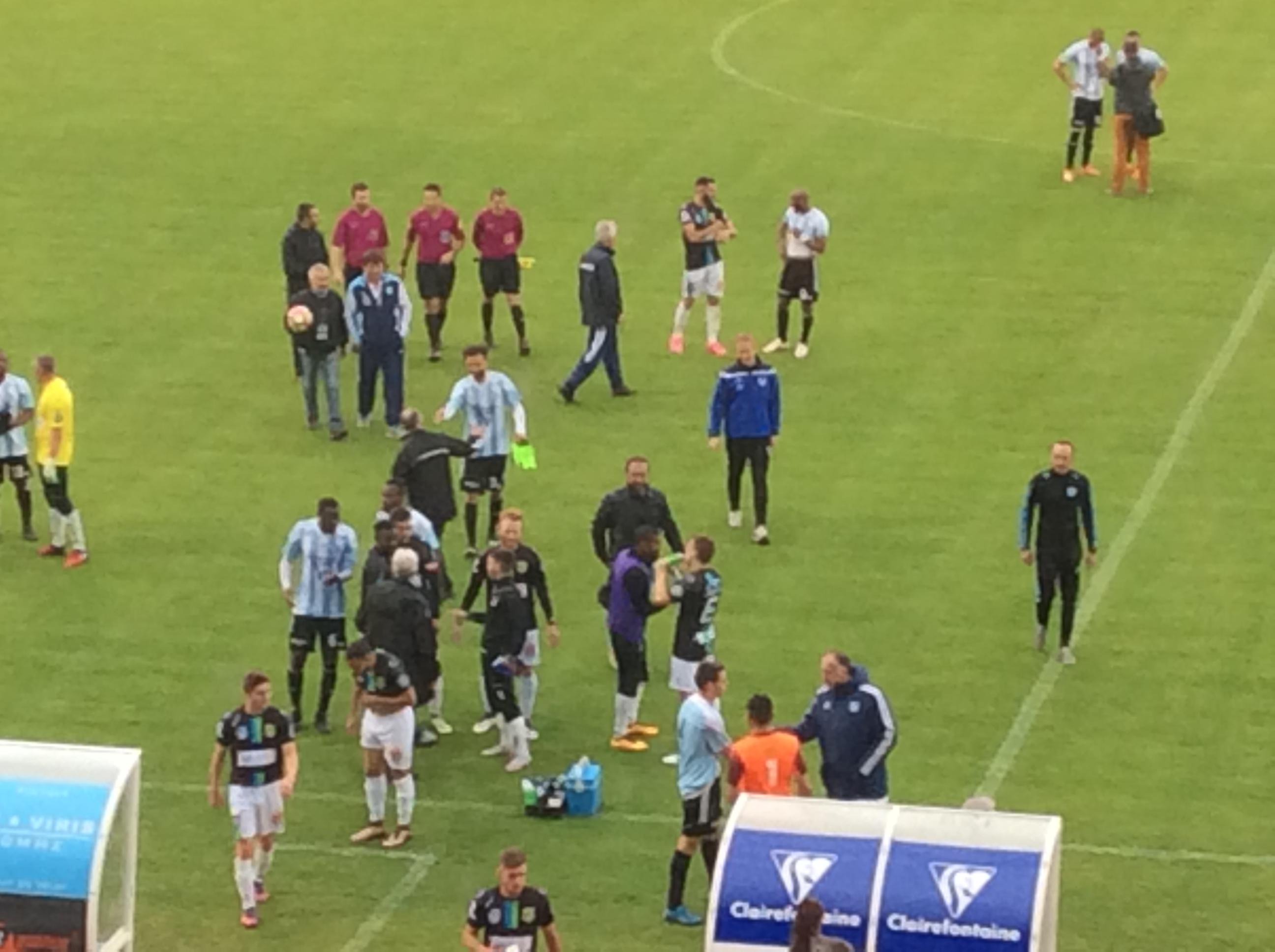 CFA groupe c foot le puy foot 43 2-1 yzeure 21/05/17 après match