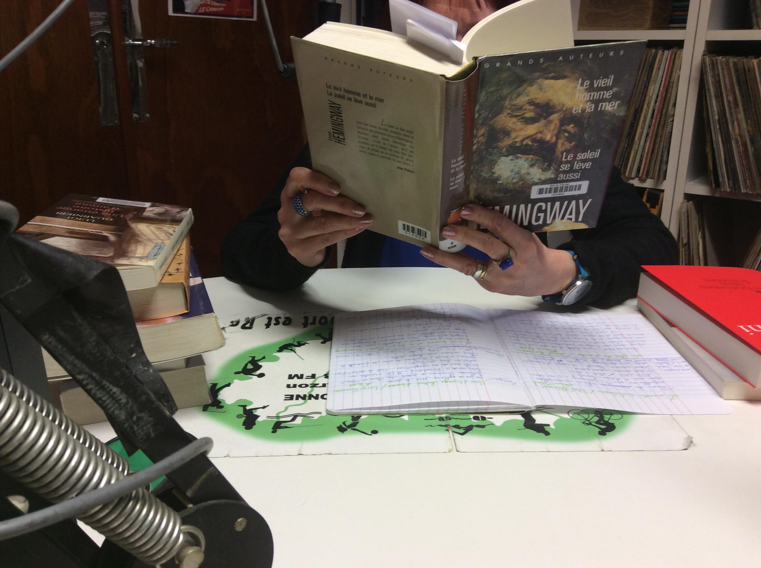 un livre par semaine pascal blazy parle du roman d' Hemingway le vieil homme et la mer