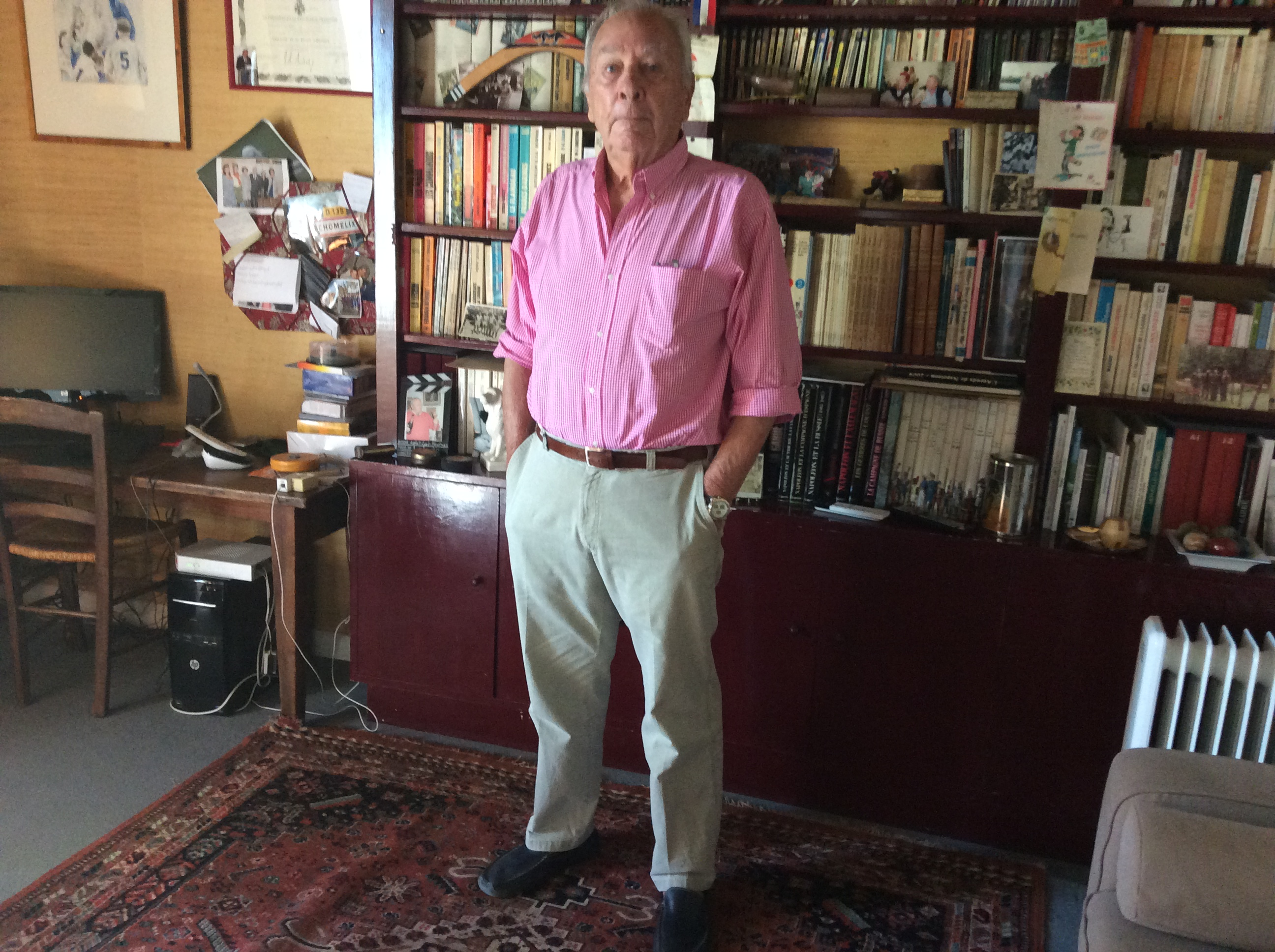 Régis forissier ancien réalisateur du tour de France 14/07/17