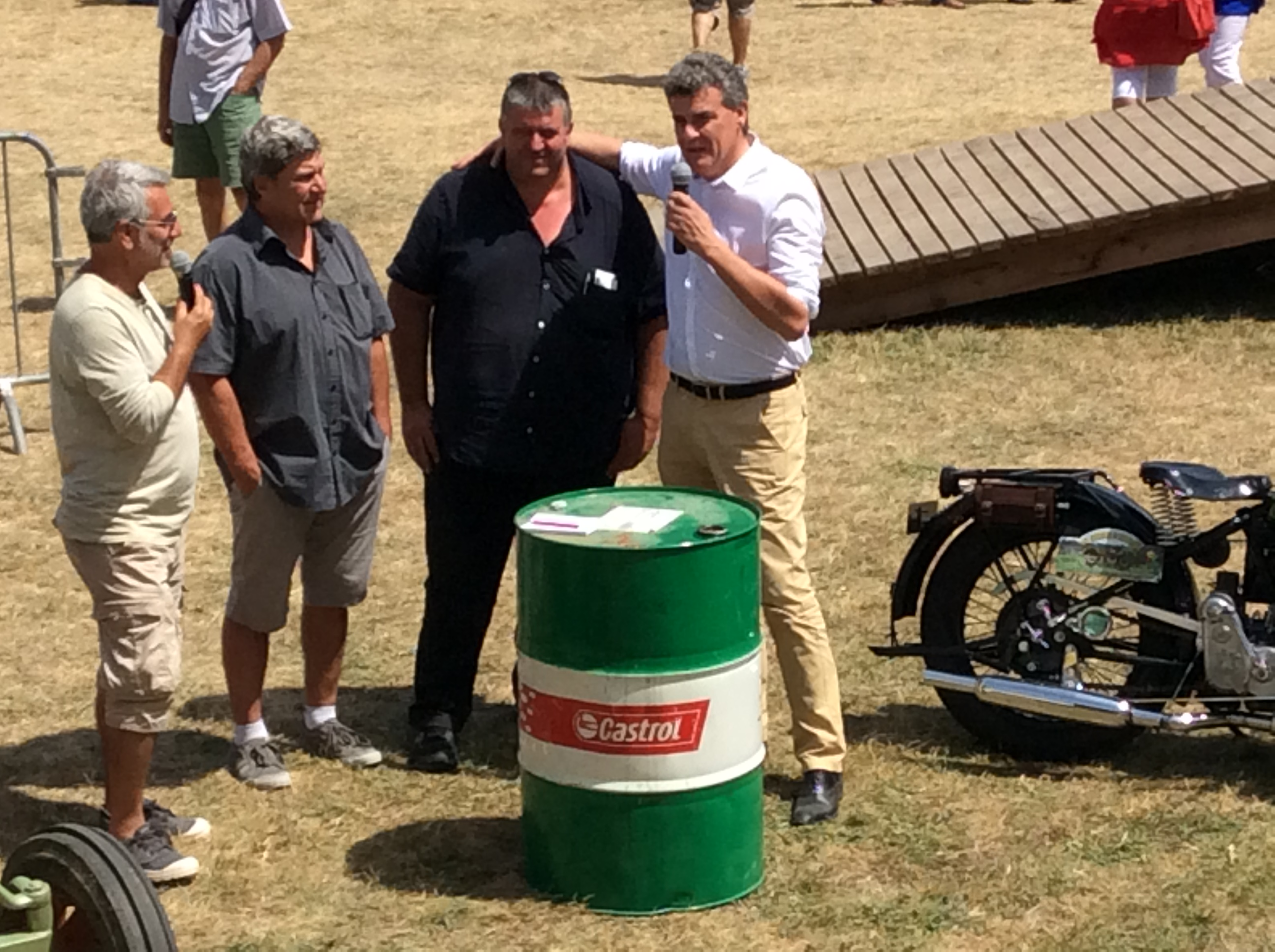 17 eme festival des mécaniques anciennes de st Vincent 2017