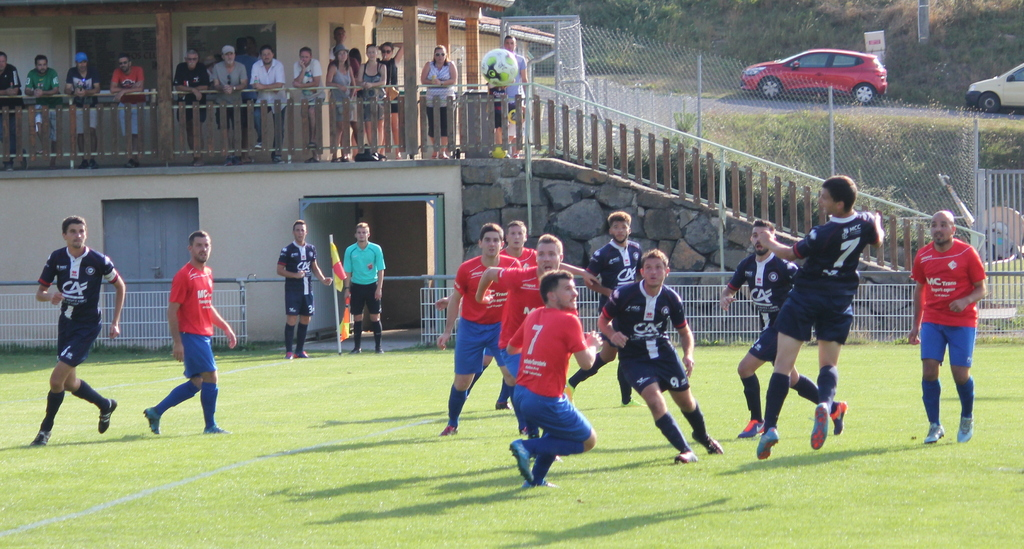 foot Auvergne régionale 1 Velay fc 1-0 clermont foot après match 1909
