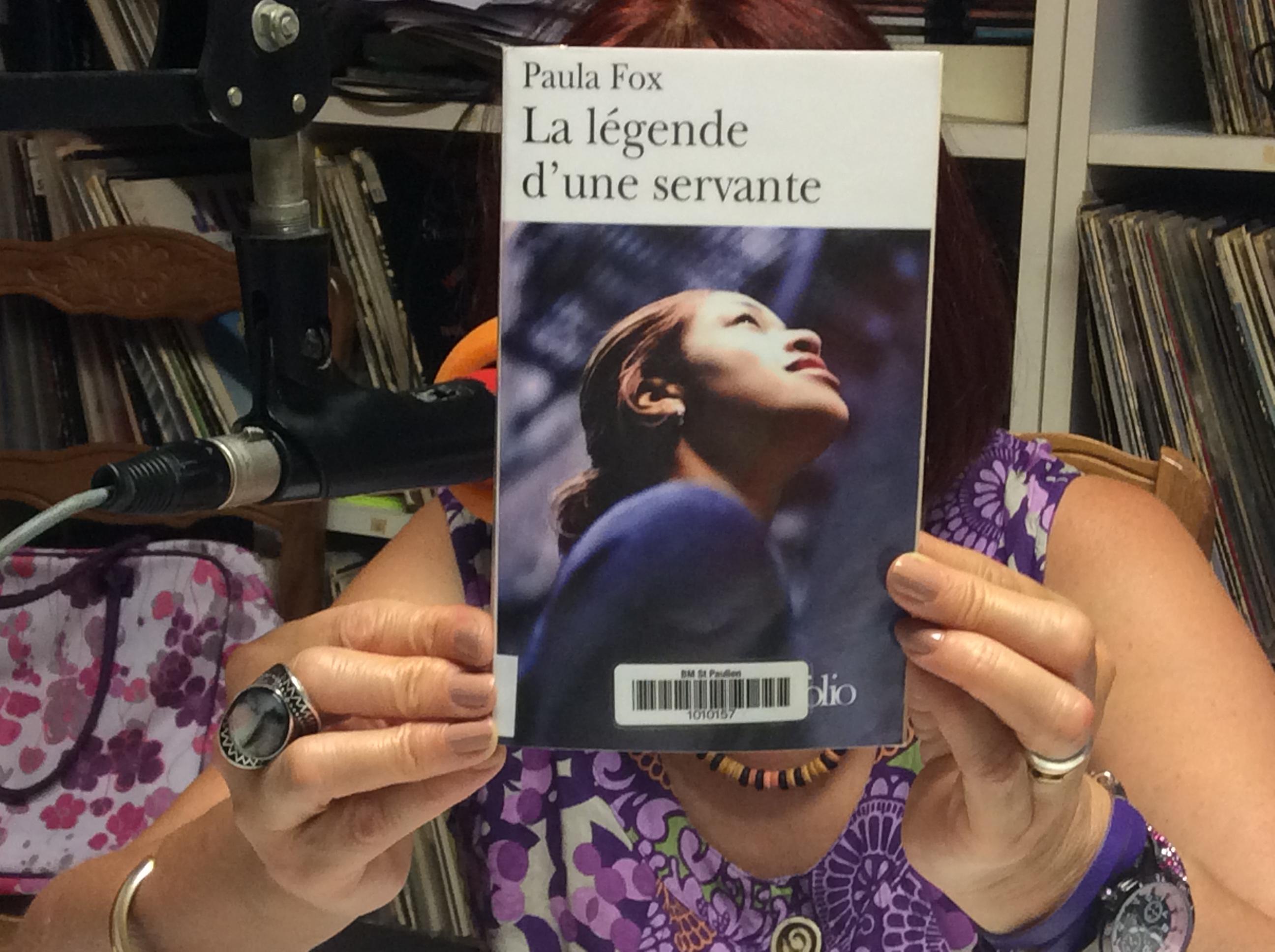 un livre par semaine Pascale blazy la légende d'une servante 02/09/17