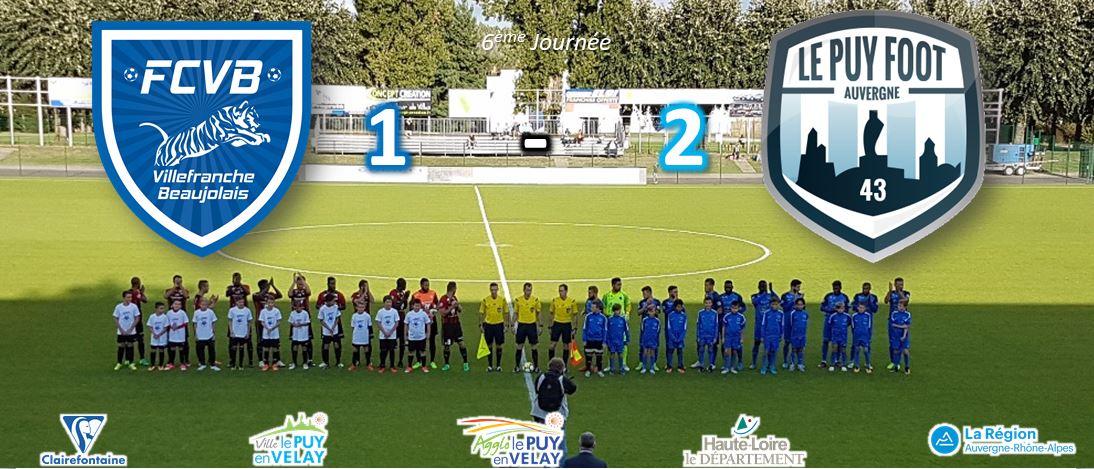 nationale 2 foot villefranche1-2 le puy foot 43 réaction après match