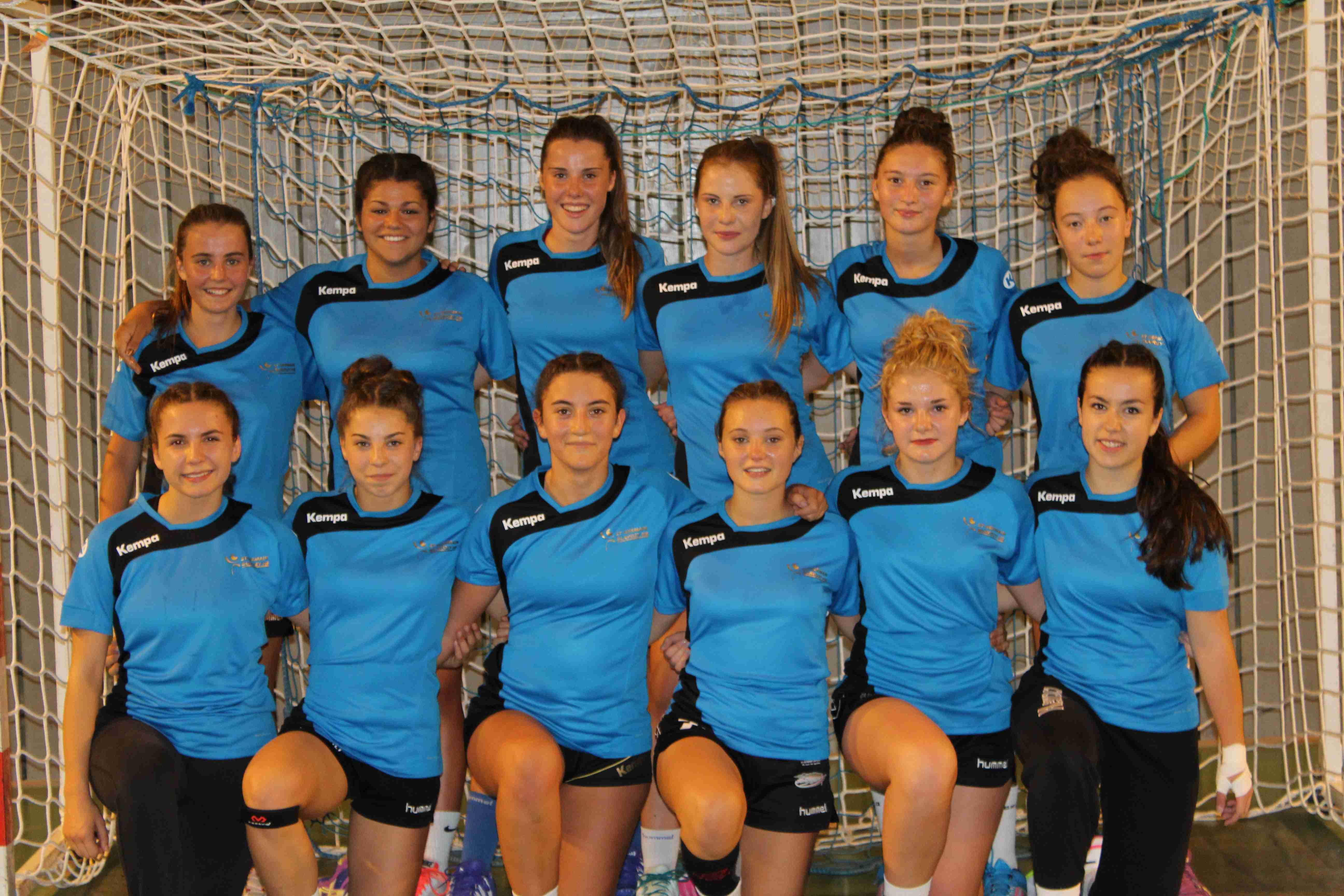 handball u18f nationale st germain blavozy27-37 bouillargues
