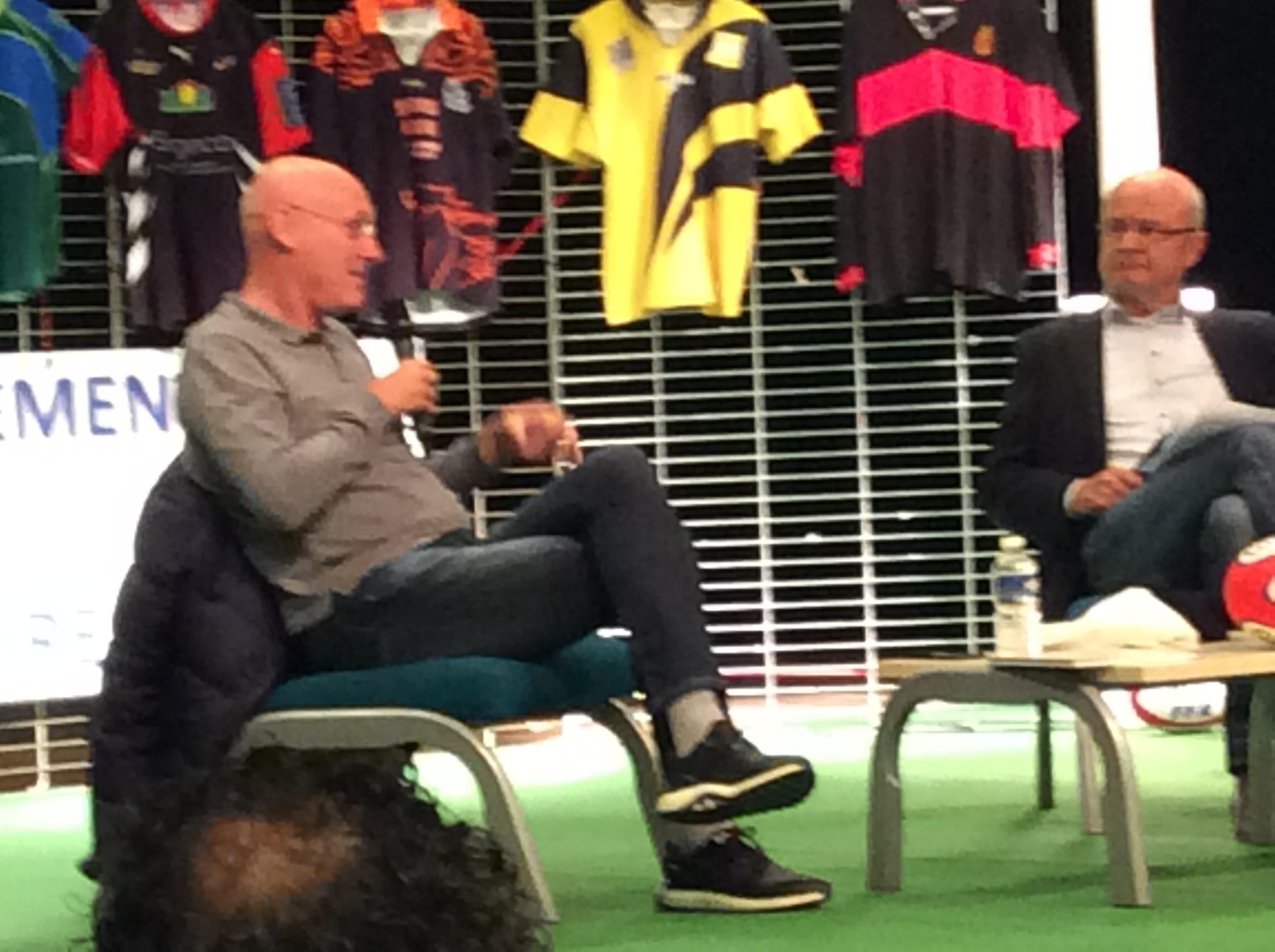 Bernard laporte président de la federation française de rugby 071017