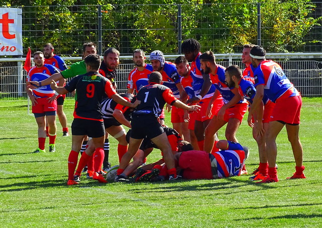 rugby fédérale 3 cop rugby le puy 24-17 Givors après match 201117