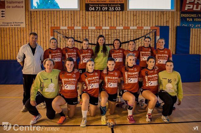 handball féminine nationale 3 st genis laval29-24 hbc loudes réac après match 180218