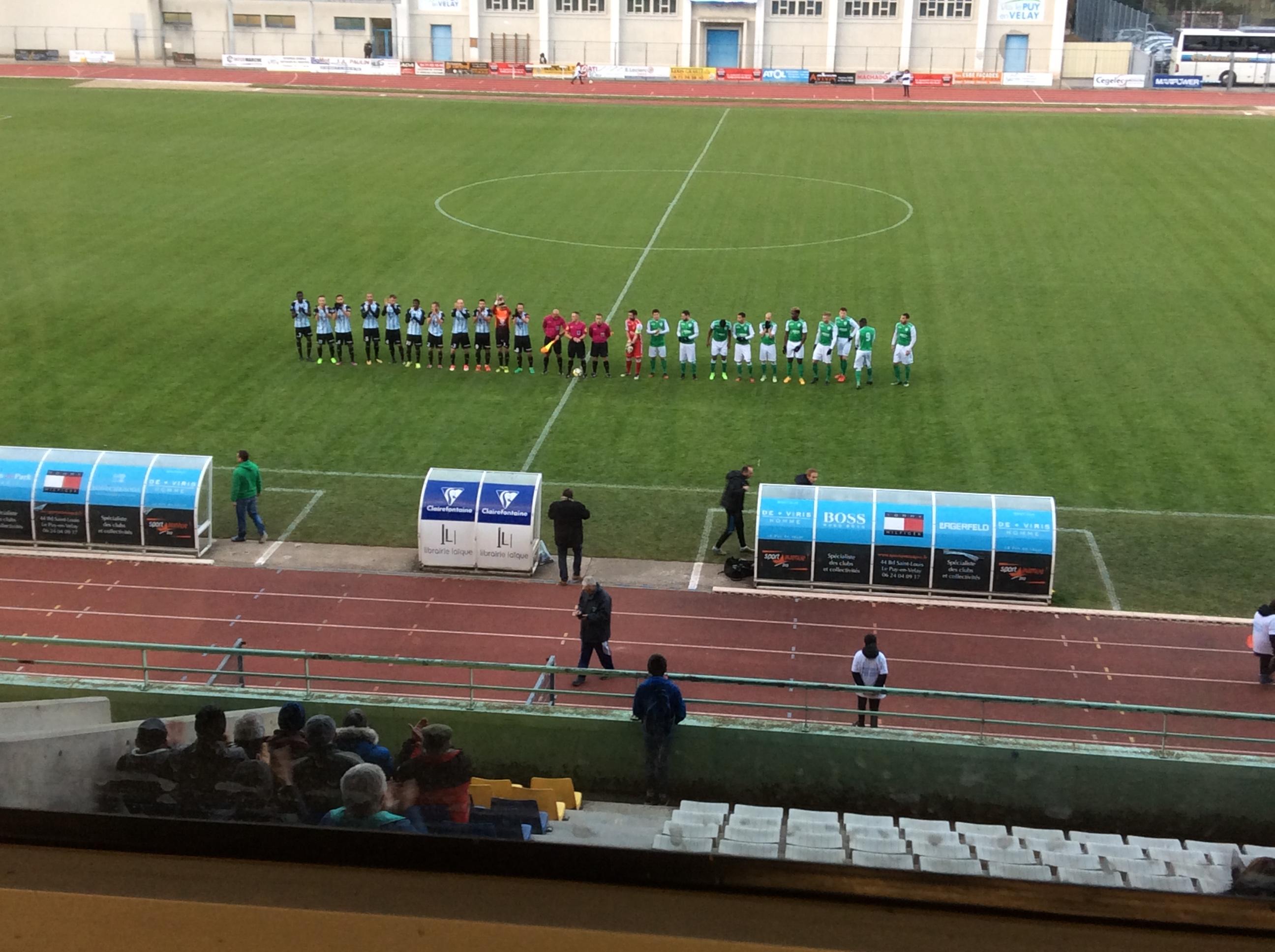nationale 2 foot le puy foot 43 3-0 schiltigheim après match 191117