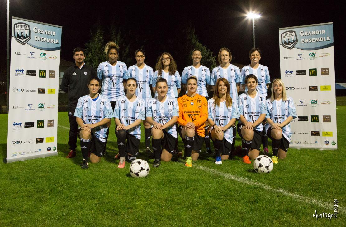 régionale 1 féminine foot Auvergne le puy foot 43 7-0 billom réac après match 200318
