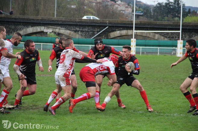 fédérale 3 rugby fc san claudien – cop le puy rugby 160918 15h