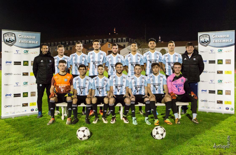 régionale 1 Auvergne le puy foot 43 (b) 1-1clermont foot après match 111217