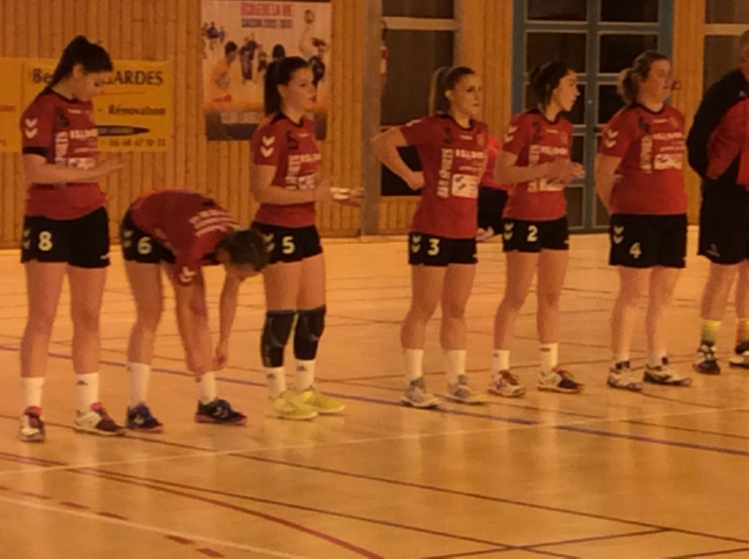 nationale 3 hand ball st egreve – hbc loudes 091217 avant match