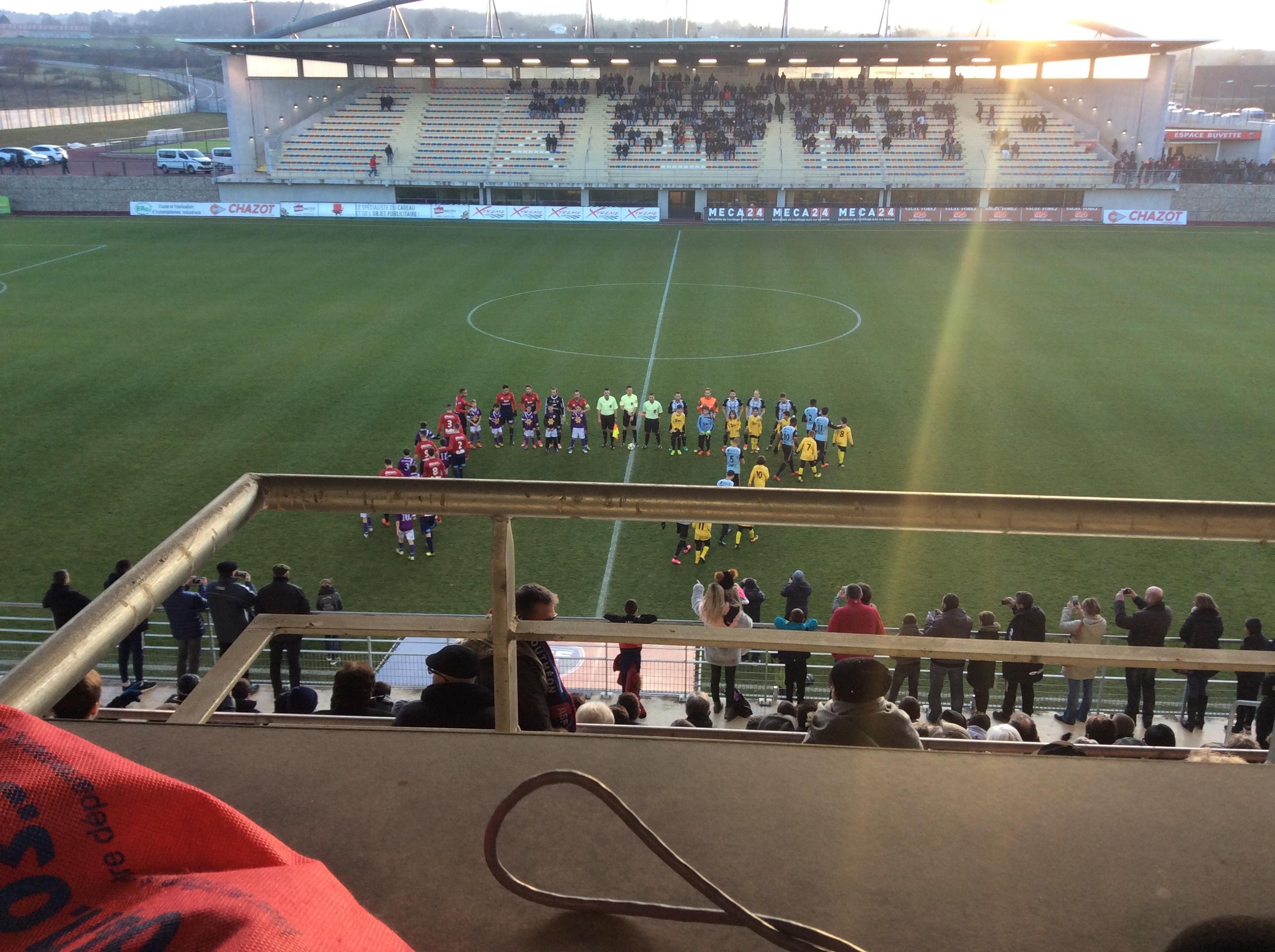 nationale 2 foot andrezieux 1-0 le puy foot 43 réac après match 140118