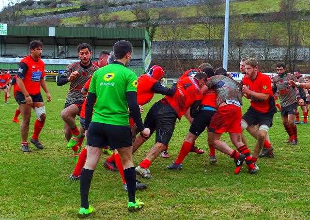 fédérale 3 rugby san claudien 14-13 cop rugby le puy réac après match 160918