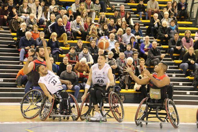 handi basket le puy 54-40 bordeaux finale match arrêté suite a malaise d'un joueur 150118