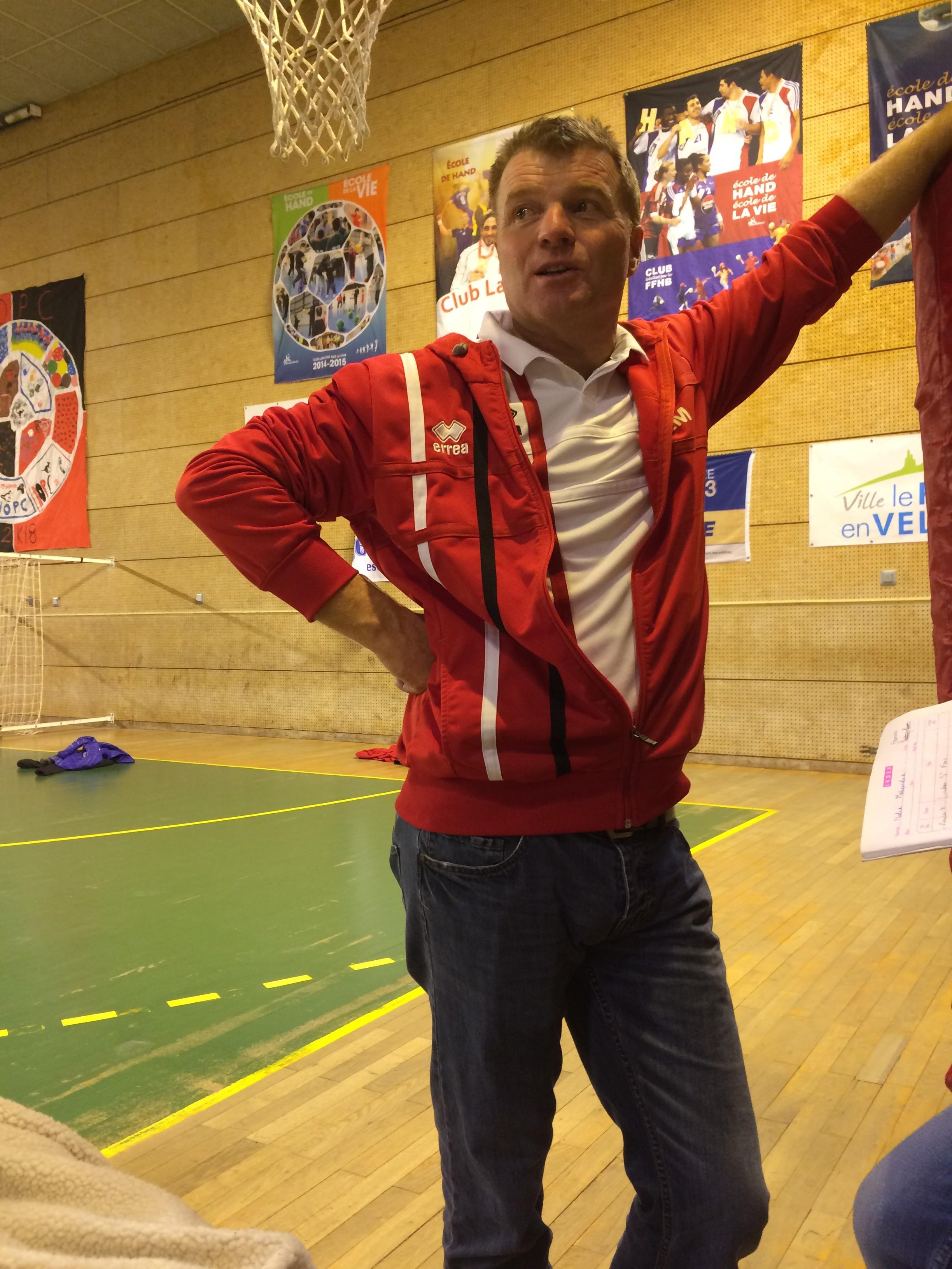 handball féminin nationale 3 hbc loudes 38-12 udol-hbc lyon réac après match 220518