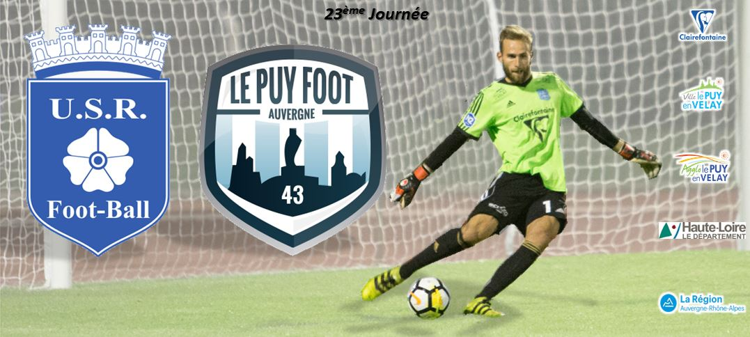 nationale 2 foot raon l'etape-le puy foot 43 17h 170318