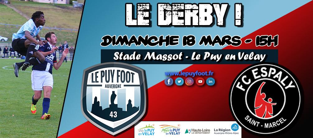 régionale 1 foot Auvergne le puy  0-1fc espaly réac après match