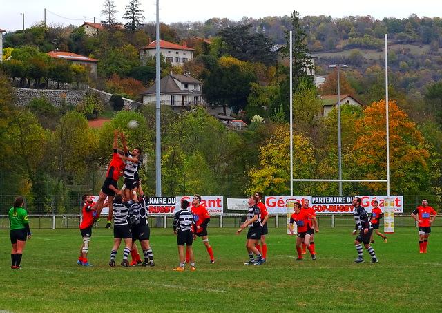 rugby fédérale 3 cop le puy20-tarare19 réac après match 151018