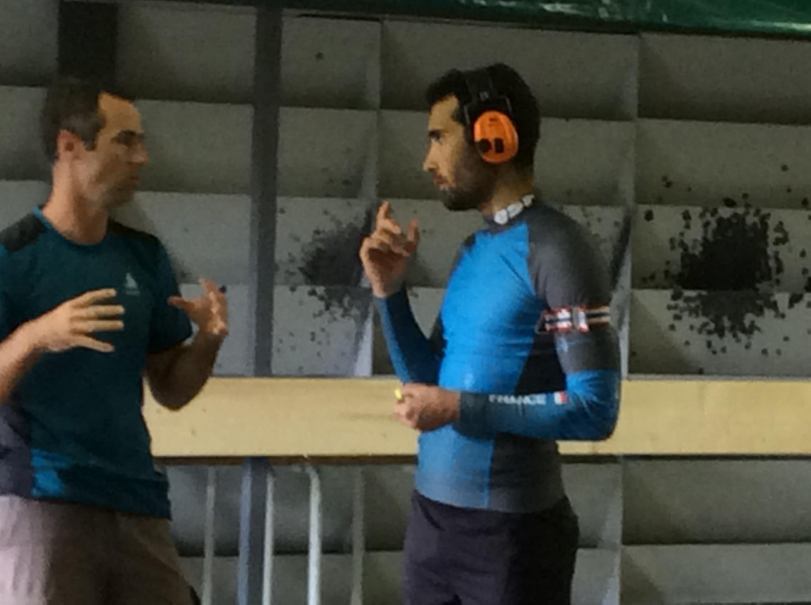 équipe de France de biathlon a beaulieu 170618