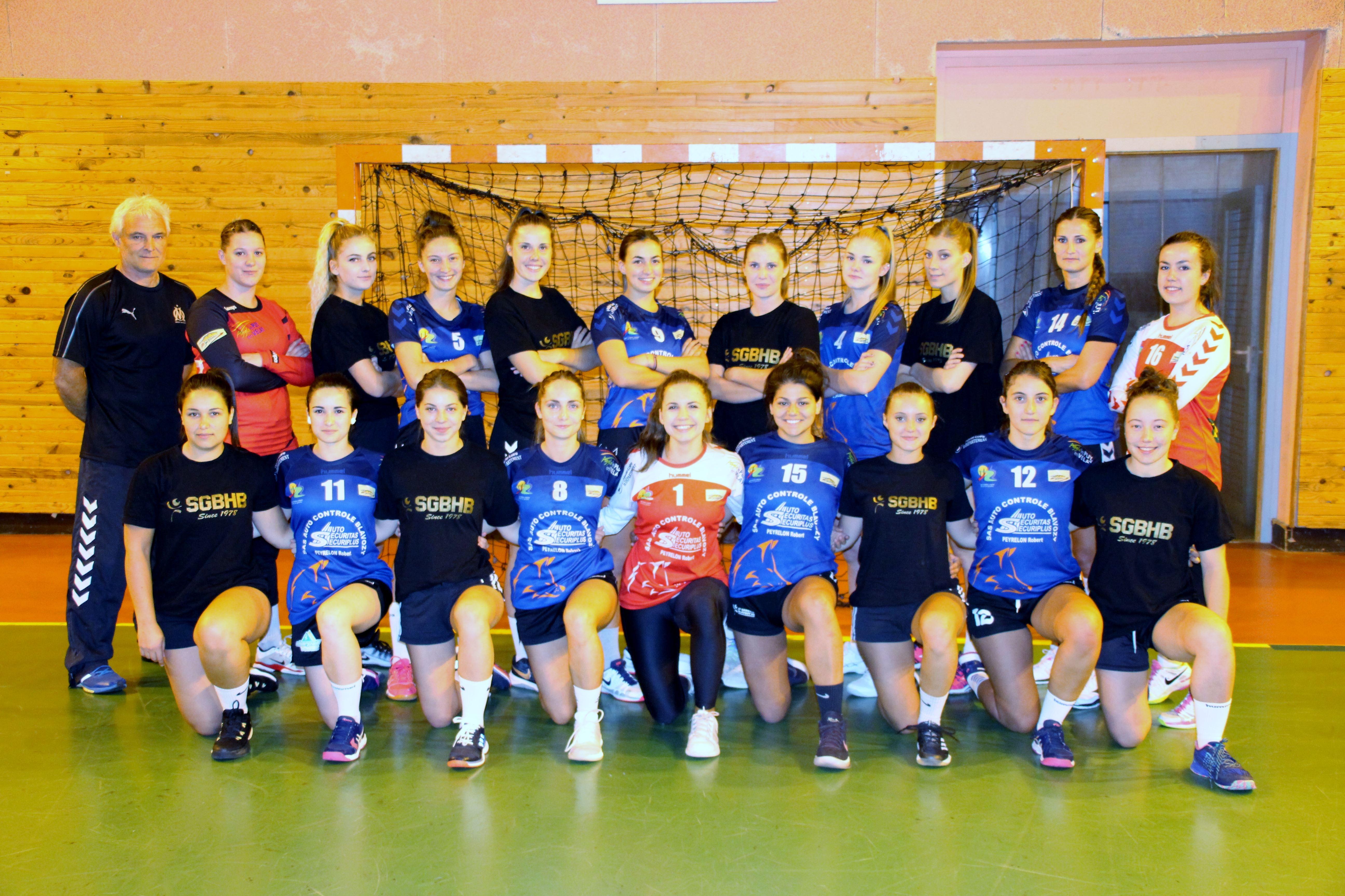 nationale 3 féminine hand ball st germain blavozy 39-32 Chamalières réac après match 141018