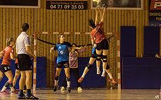 hand ball féminin n3 aura tarare-hbc loudes avant match 130419 20h30