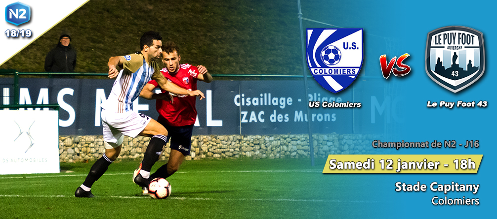 nationale 2foot  colommiers-le puy foot 43 18h