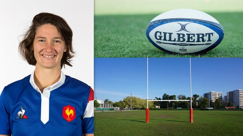 Jessy tremouliere élue meilleure joueuse mondiale de rugby féminin