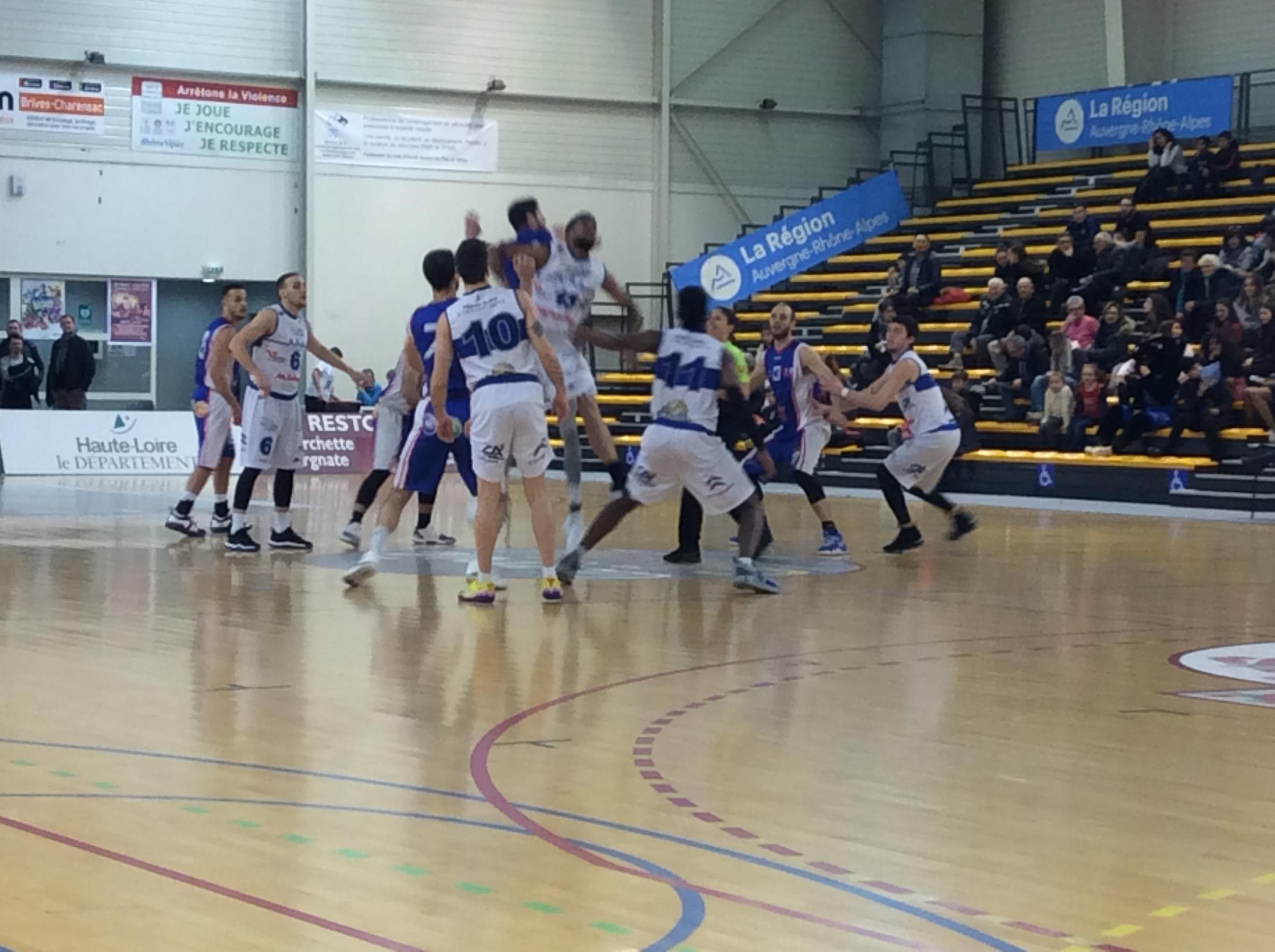 nationale 2 basket asmb le puy 61-85 beaujolais basket réac après match 110219