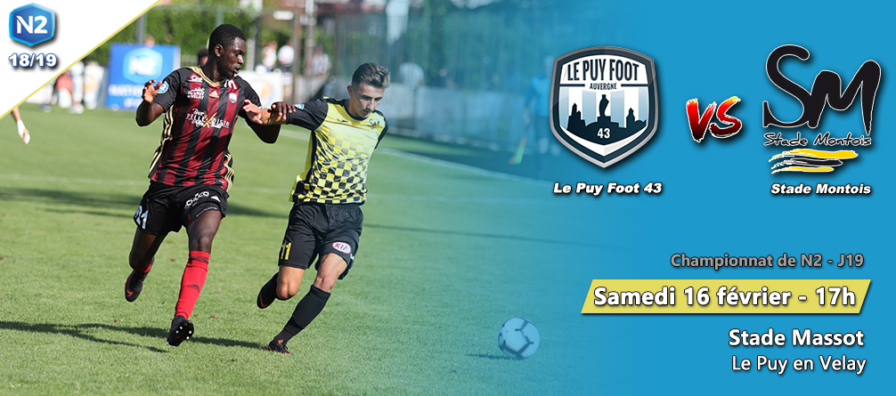 national 2 foot le puy foot 43 – stade montois 17h massot avant match 160219