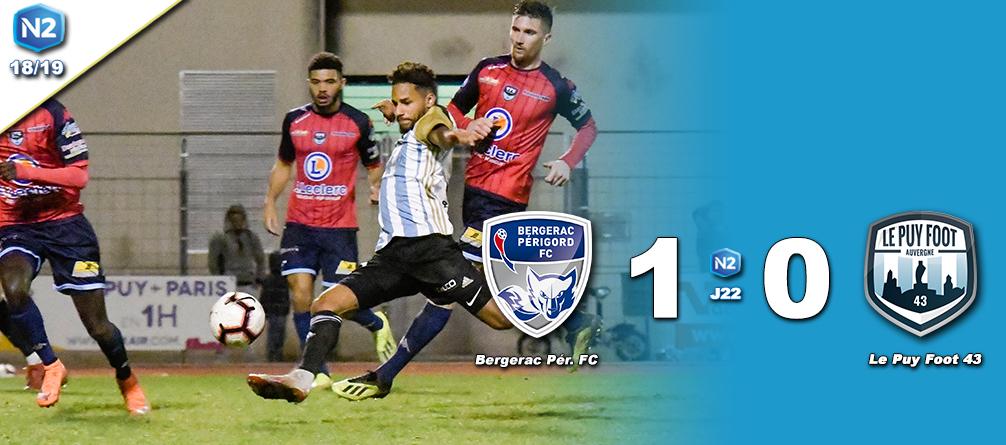 national 2 foot Bergerac 1-0 le puy foot réac après match 170319