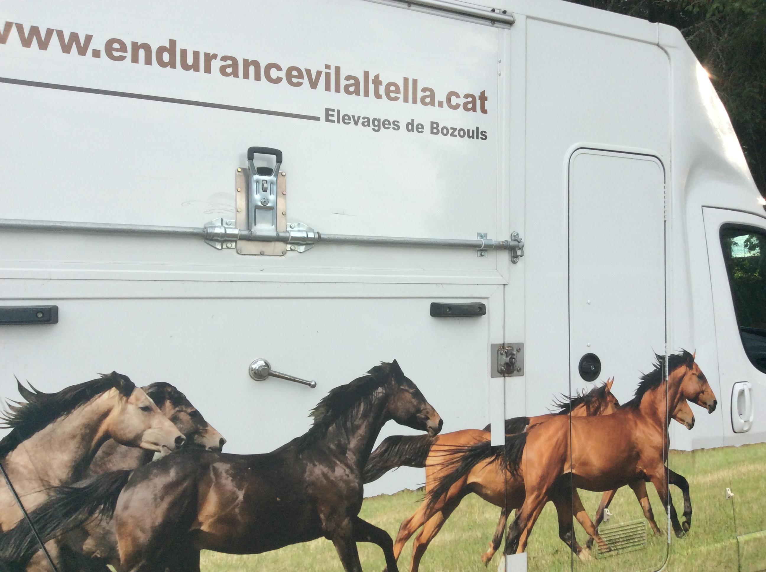 raid des pèlerins 2019 a l'hippodrome lachamps Gilbert best course d'endurance a cheval concours international