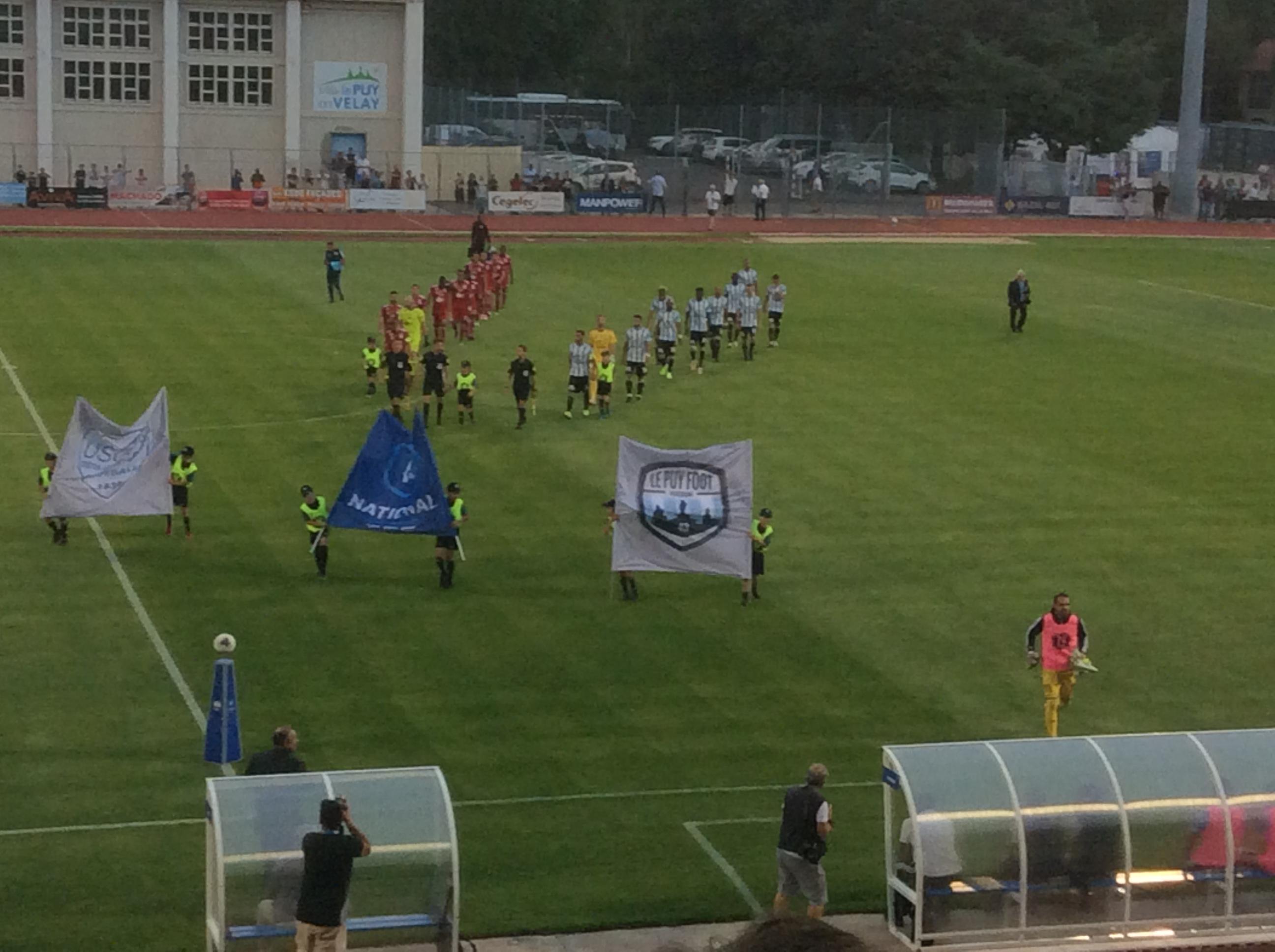 national foot le puy foot 43 2-3 Créteil réac apres match 110819