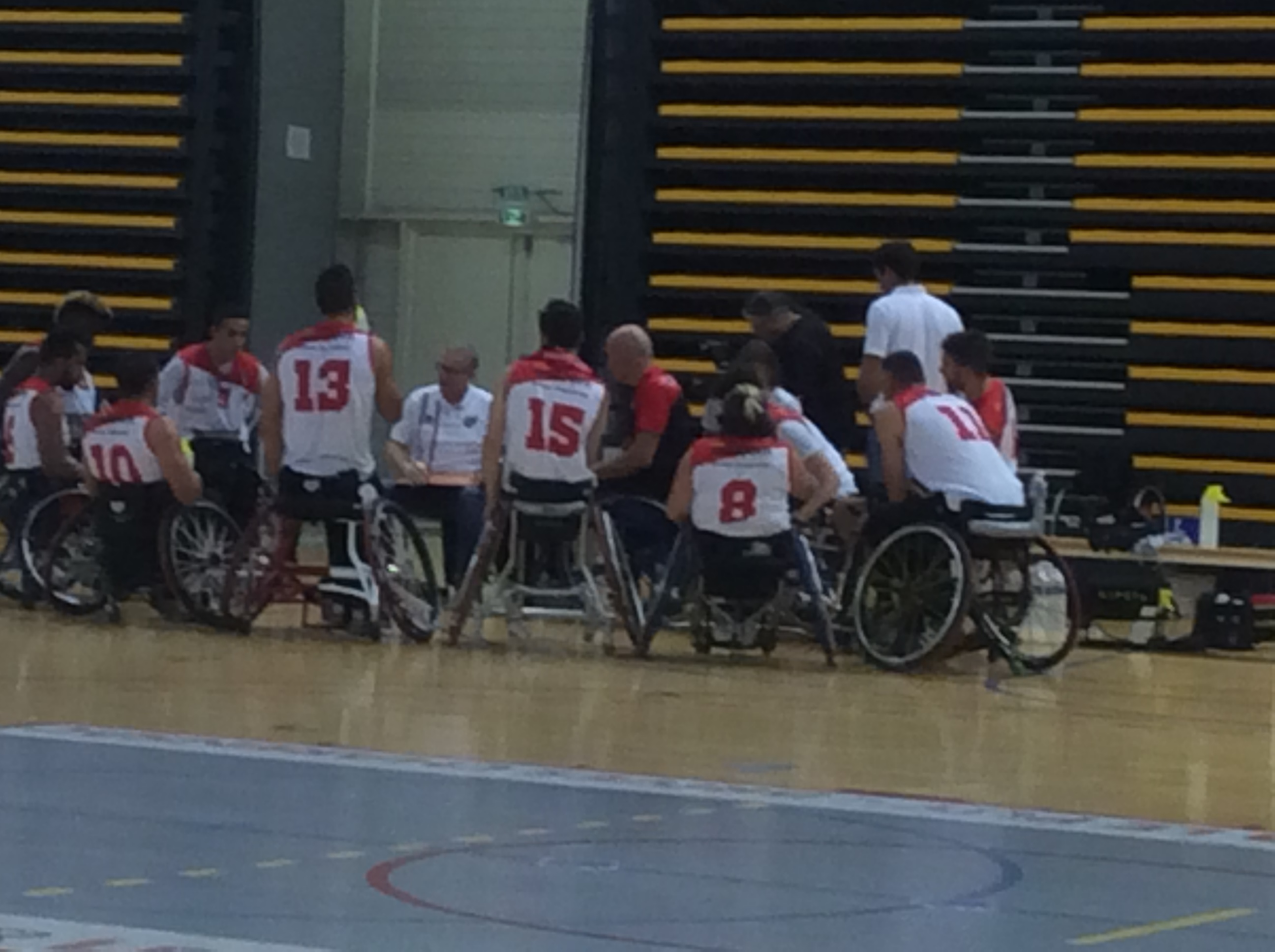 handi basket nationale 1 a les aigles du velay-toulouse 20h 161119 avant match