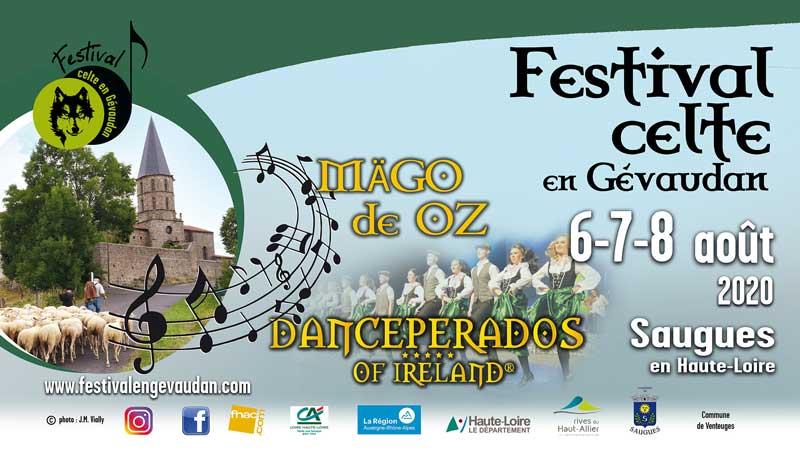 festival celte en gevaudan saugues 6-7-8 aout 2020