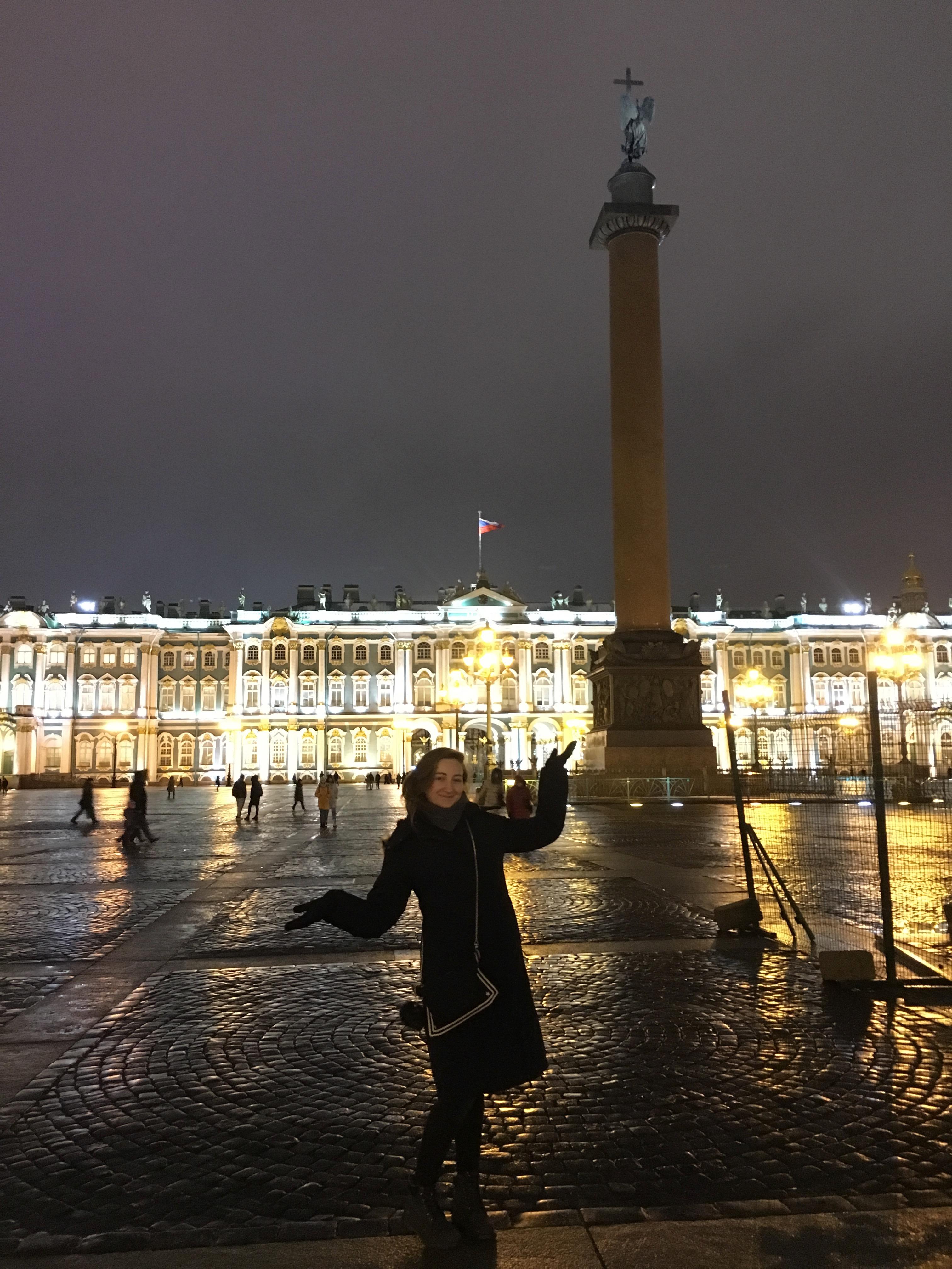 Sophie sarrazin étudiante a st Petersbourg