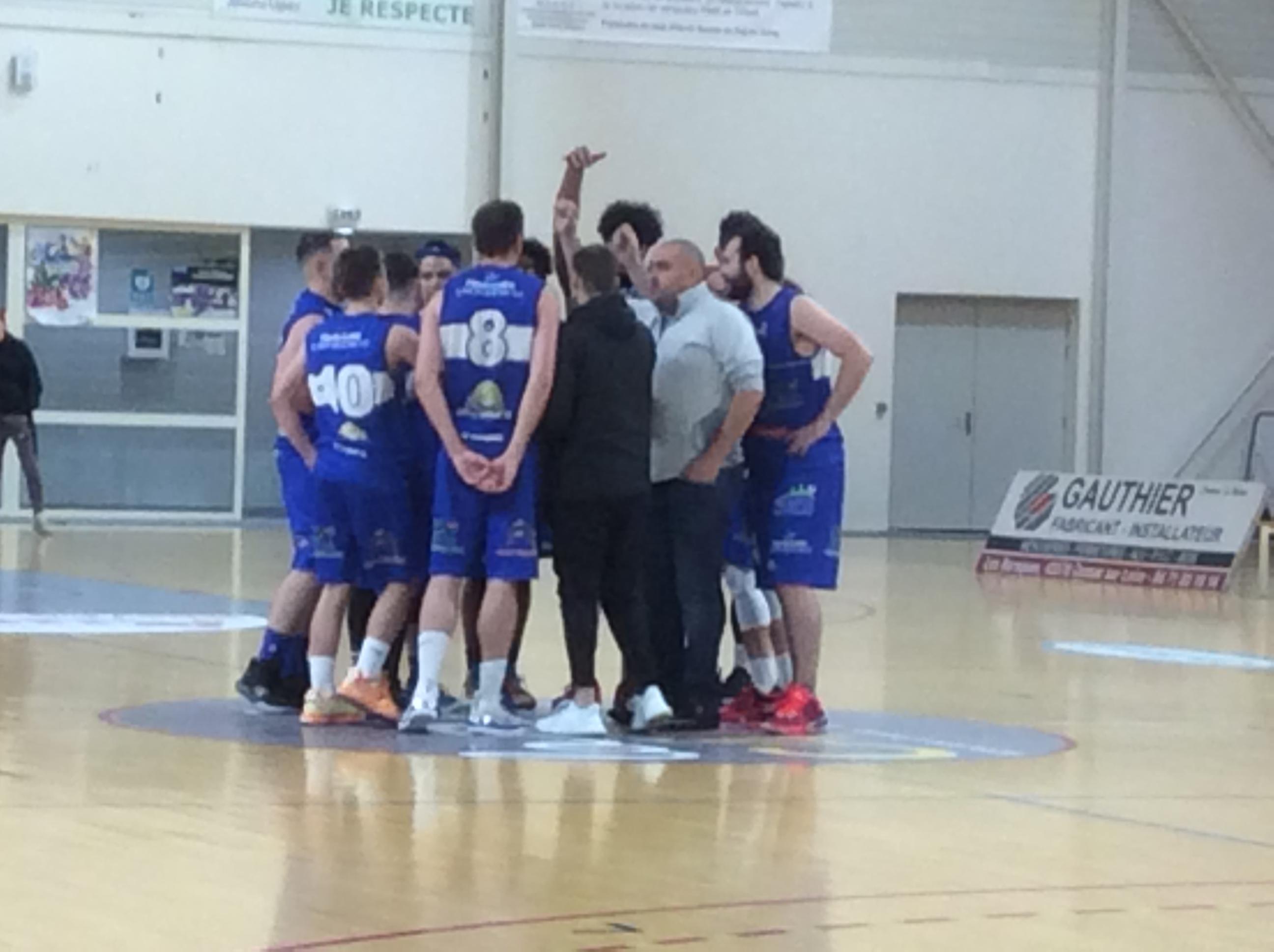 basket aura regionale 2 masculine asmb le puy 62-70 villefranche en beaujolais réac après match 090320