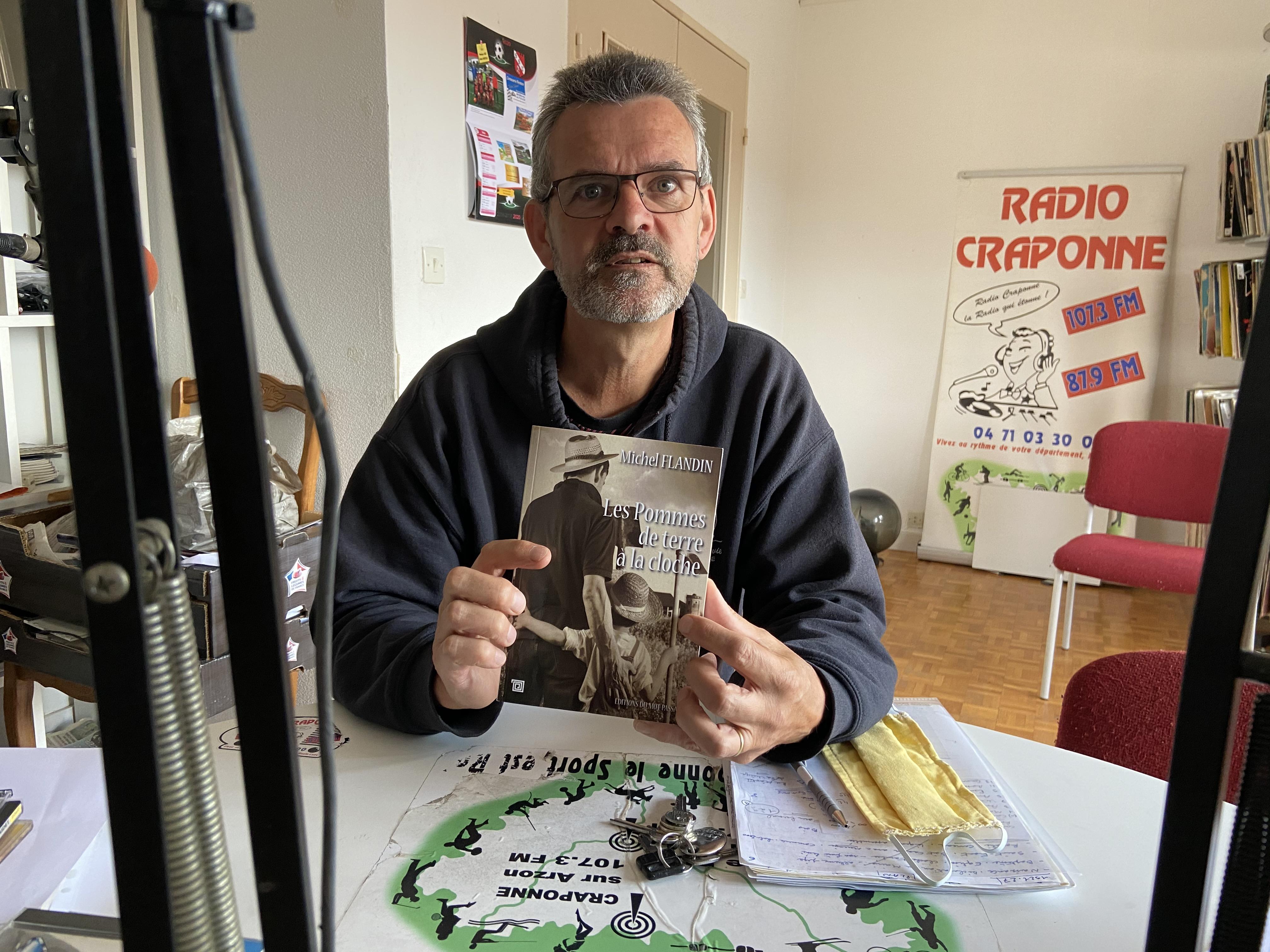 invite du jeudi Michel flandin pour son roman les pommes de terre a la cloche