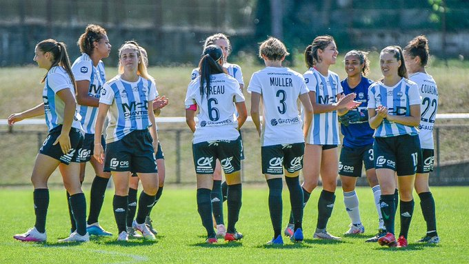 division 2 féminine  merignac 0-1 le puy foot 43 reac apres match 280920
