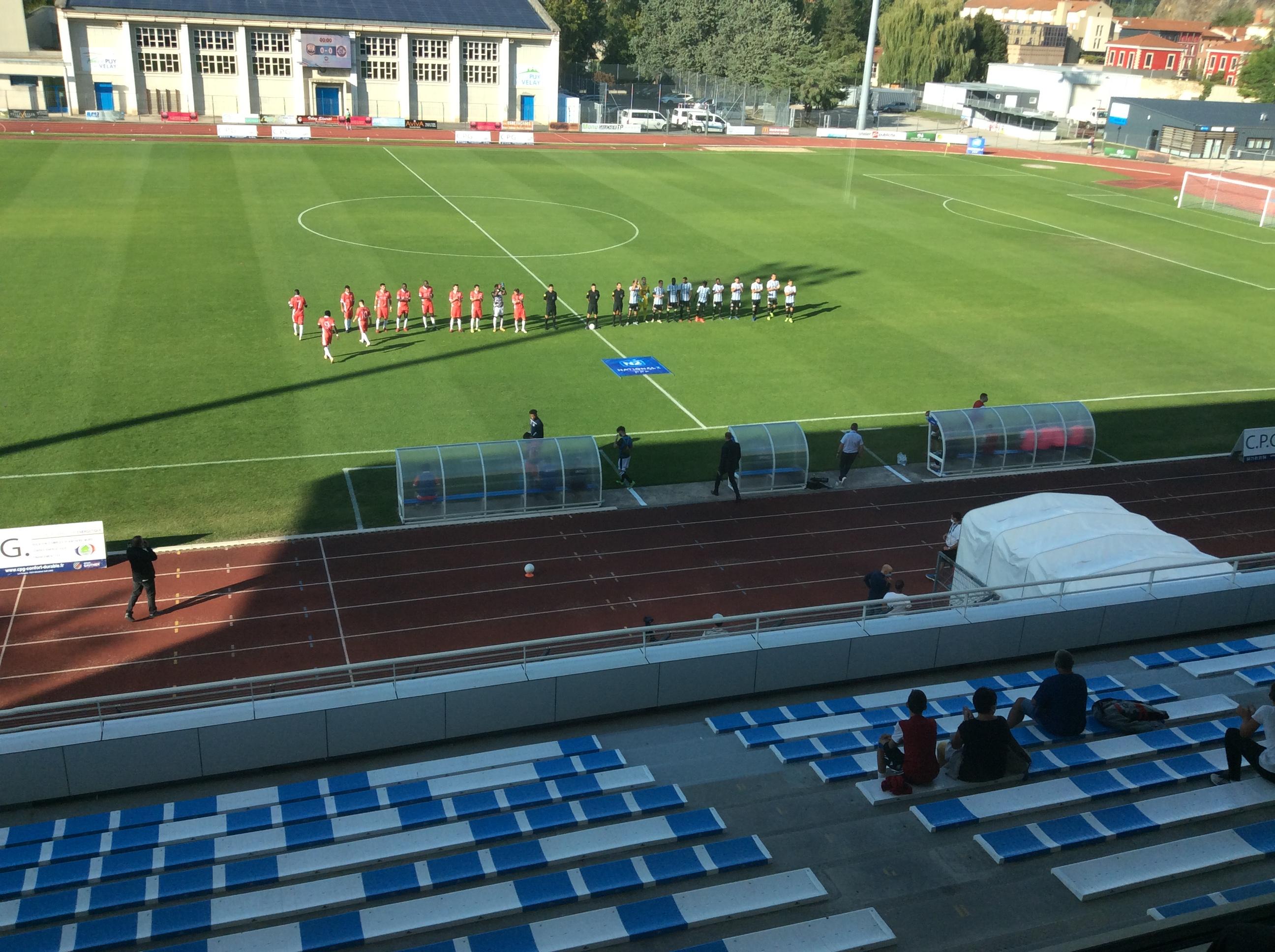 national 2 foot Colomiers 0-0 le puy foot réac après match 280920