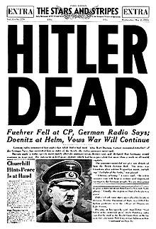 histoire de France et d'ailleurs les derniers jours d'Hitler René joseph irmana 011220