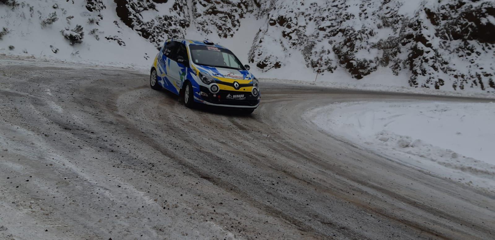 rallye de Monte-Carlo David Berard et Frederic Lager 1ere journée 220121 reactions