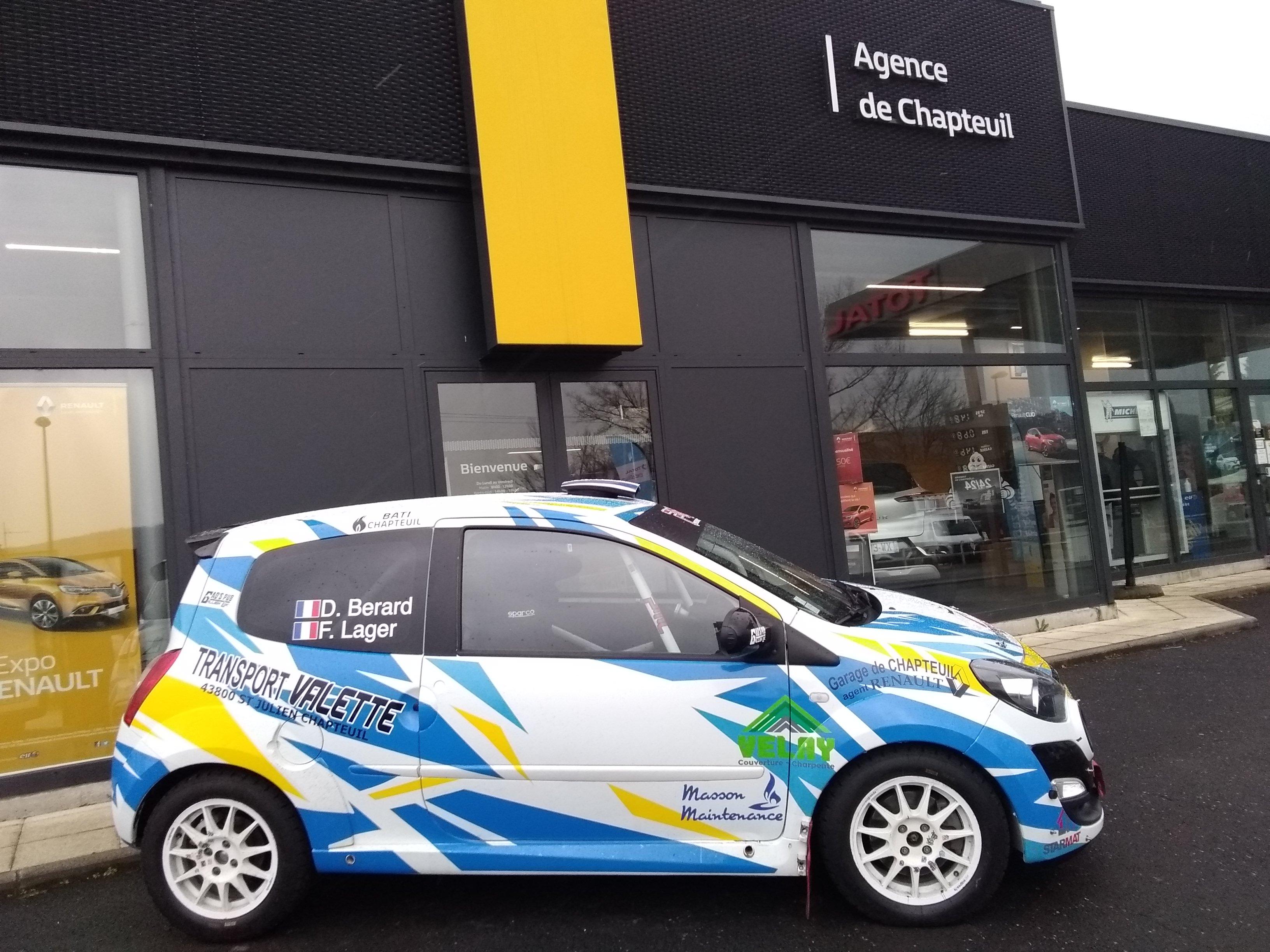 3eme journée rallye Monte-Carlo 230121 Frederic Lager et David Berard