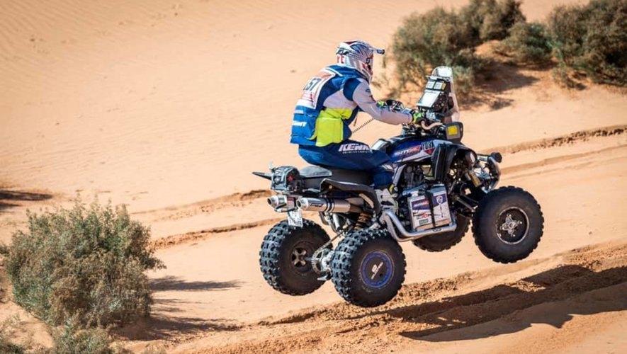 Dakar 2021 Maxime Pergier assistant de Romain Dutu 230121