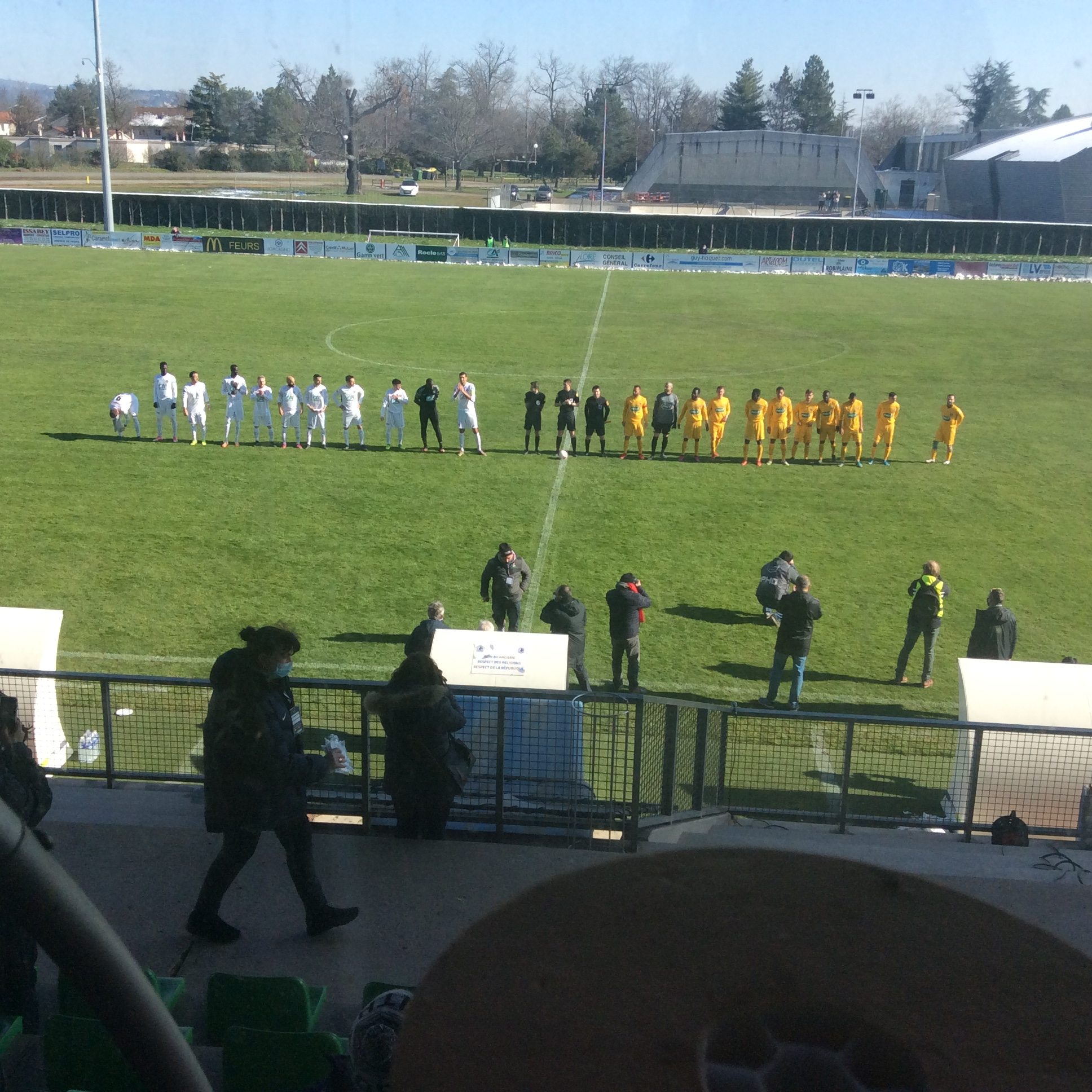 coupe de France 8eme tours us feurs 0-0 le puy foot 43 (tirs au but 3-4) le puy qualifie pour les 32 eme de finale