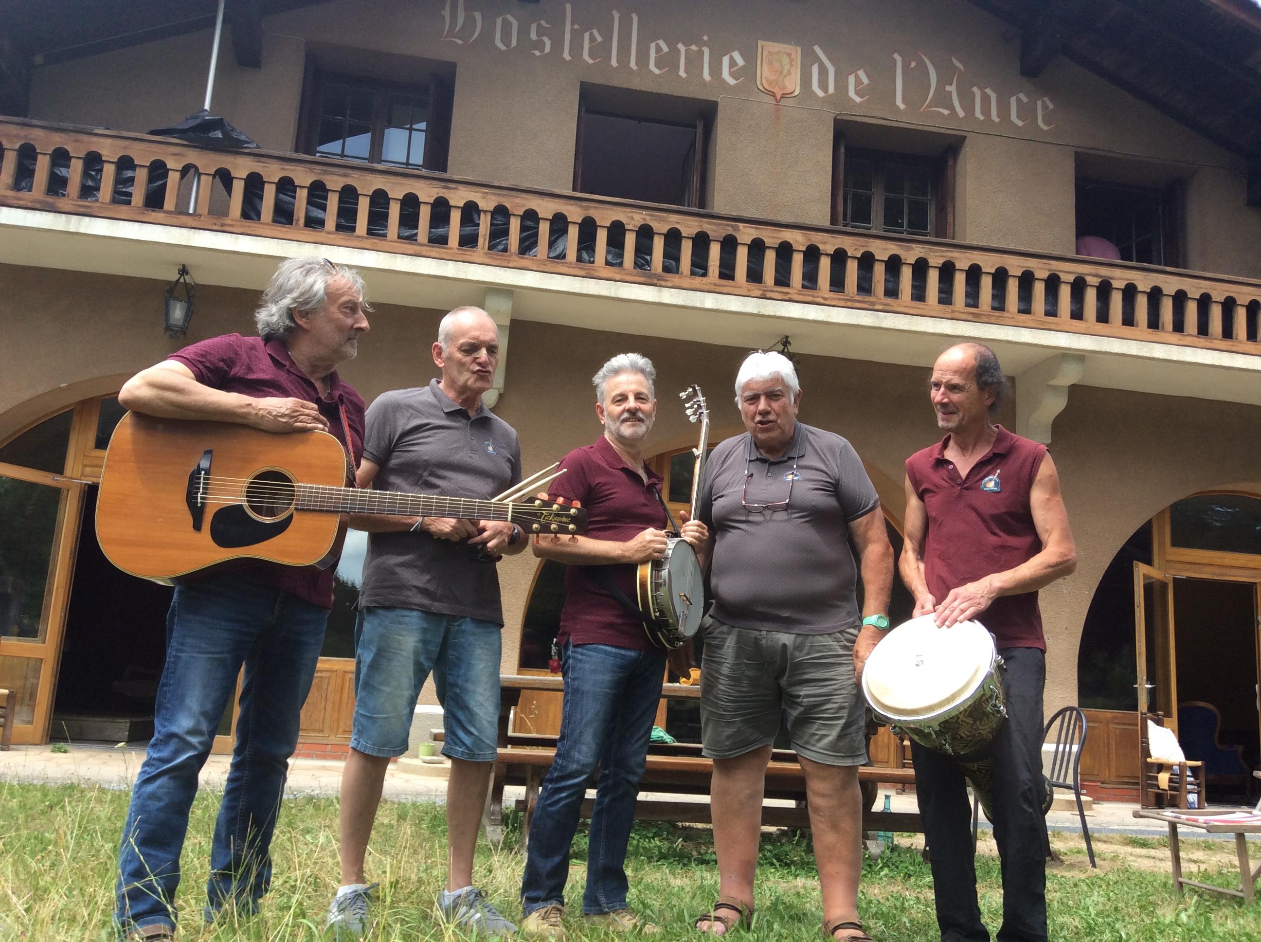 radio craponne présente jean pierre et son skiffle groupe le cd hommage a Graeme allwright