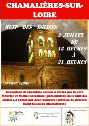 Nuit des Églises a Chamalieres sur Loire